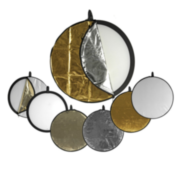 Rent 5-in-1 Collapsible Circular Reflector Disc - 32""