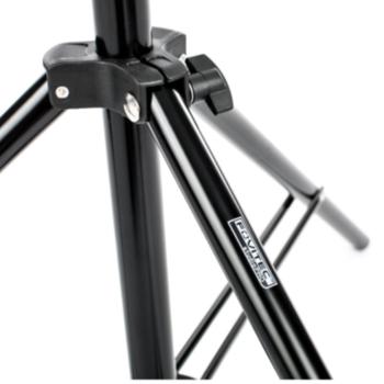 "Rent Fovitec 3-Rise Spring Load Kit Stand - 7'6"""