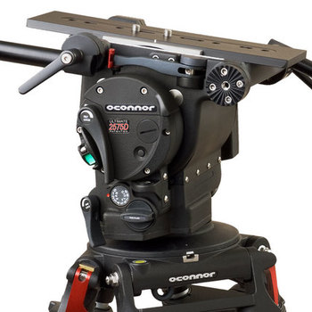 Rent O'Connor 2575 Tripod Head w/ 60L Carbon Fiber Sticks