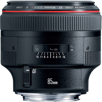 Rent Canon EF 85mm f1.2L II USM Prime Lens (L-Series) + FILTERS