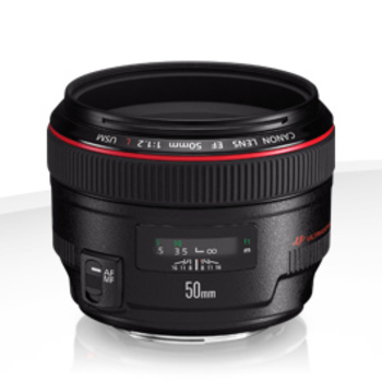 Rent Canon EF 50mm f/1.2L Prime Lens (L-Series) + FILTERS