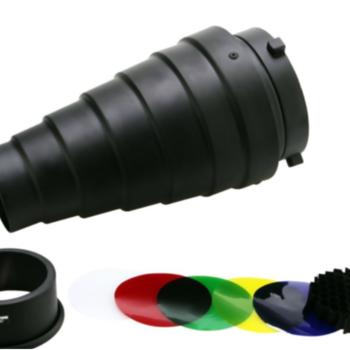 Rent Hoage Conical Snoot w/ Grid & Gel Kit
