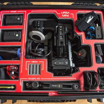 Rent Ursa Mini 4.6K EF Kit with Rokinon Lens Kit