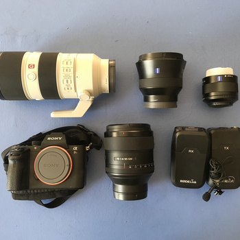Rent Ultimate Photographer/Filmmaker Kit! Sony A7RII with Multiple Lenses and Flash/Mic