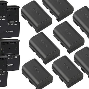 Rent POWER BUNDLE - Canon 8x4 LP-E6 Battery & Charger Kit