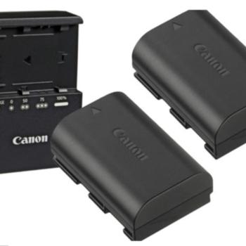 Rent POWER BUNDLE - Canon 2x1 LP-E6 Battery & Charger Kit