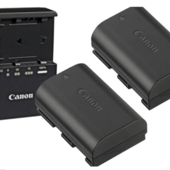 Rent POWER BUNDLE - Canon 2x1 LP-E6 Battery & Charger Kit