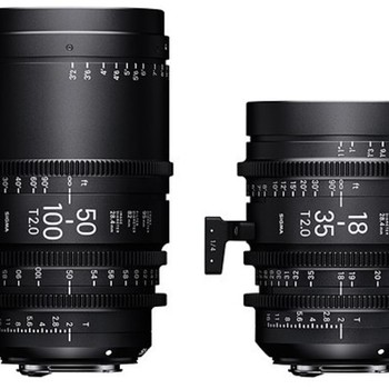 Rent Sigma Cine Zooms (18-35mm and 50-100mm)