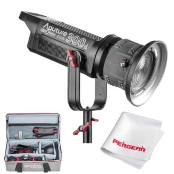 Rent *2* Aputure Lightstorm 300d's w/ Fresnel FREE DELIVERY