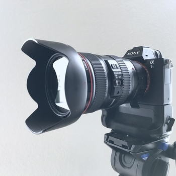 Rent Sony A7S II + Canon 24-105mm Camera Kit