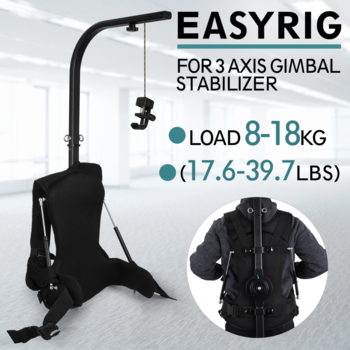 Rent VEVOR EASYRIG 8-18kg  for Video Film Heavy Cinema Camera  DSLR DJI Ronin M 3XIS Gimbal