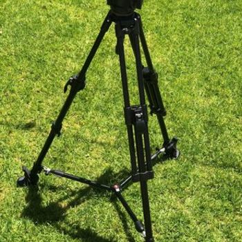 Rent Manfrotto 503HDV Video Fluid Head and Tripod
