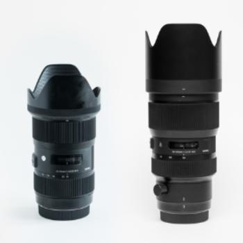 Rent Sigma 18-35mm f1.8 & 50-100 f/1.8 - Canon Kit