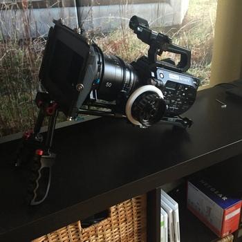 Rent Sony PXW-FS7 with Metabones Speedbooster Canon Mount