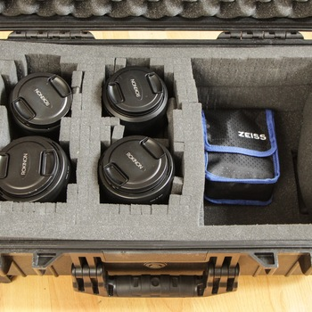 Rent Rokinon Cine DS 4 Lens Kit EF Mount with Pelican Case