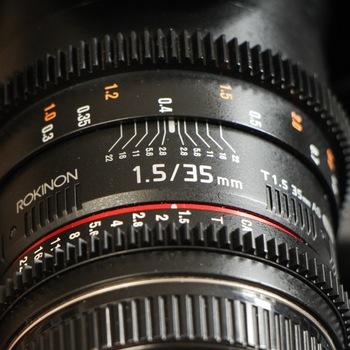 Rent Rokinon Cine DS 4 Lens Kit EF Mount with Pelican Case