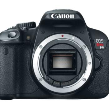 Rent Canon t4i body