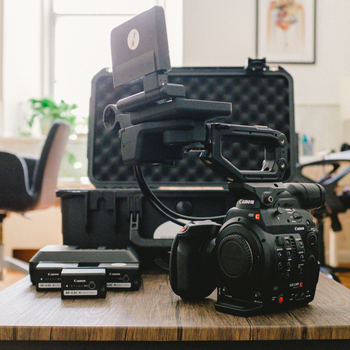 Rent Canon C300 Mark II Kit (EF or PL mount available)