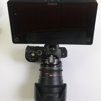 Rent Atomos Shogun 4K Recorder / Touchscreen Camera monitor with Two SSDs