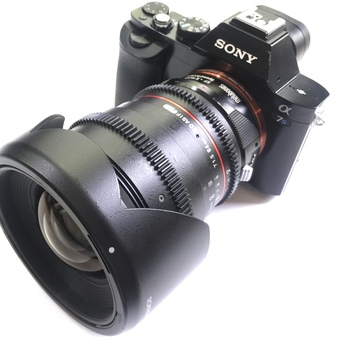 Rent Super fast T1.5 24MM Rokinon Cinema lens with Variable ND