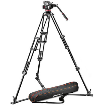 Rent Manfrotto 502HD Tripod with Universal Tripod Dolly