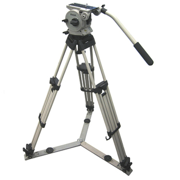 Rent Vinten Vision 10 - 100mm Tripod w/ Spreader and Dolly wheels