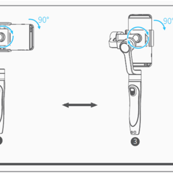 Rent iPhone/GoPro Gimbal with extension arm.