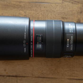 Rent Canon EF 100 F/2.8L IS USM Macro Lens