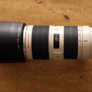 Rent Canon EF 70-200 F/2.8 L IS II USM Lens