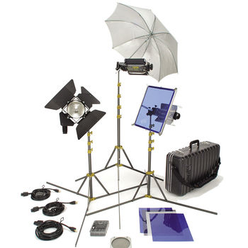 Rent Lowel TO-GO 97 Kit, 2000 watt total, 3 lights + 2 Chinaballs