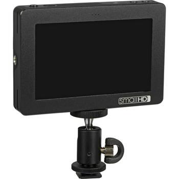 """Rent SmallHD  DP4 4.3"""" LCD Field Monitor w/hotshoe + Batteries"""