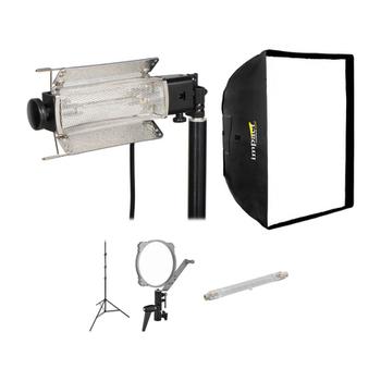 Rent Lowel Tota Softbox Light, 750 watts, Interview Light