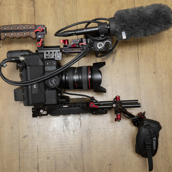 Rent Canon C300 Mark II EF kit w/ Zacuto Recoil rig+accessories