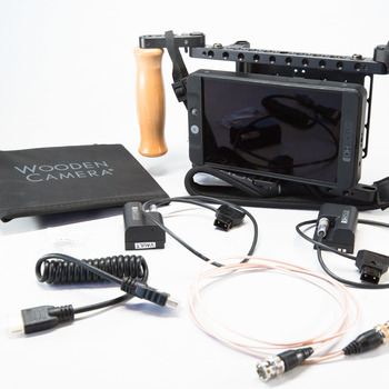 Rent SmallHD 702 Monitor w/ WC Handheld Cage & GoldMount Plate