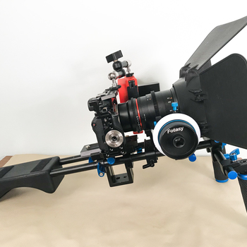 Rent Sony A7S Production Package with Follow Focus and Monitor and Rokinon Lenses