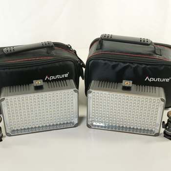 Rent 2x Aputure Amaran AL-H198 On-Camera LED Light