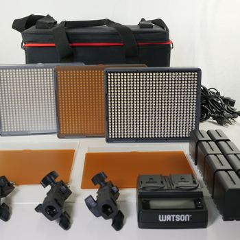 Rent Aputure Amaran 3-Point 2-Spot 1-Flood Daylight HR672 3-Light Kit  w/dual charging station
