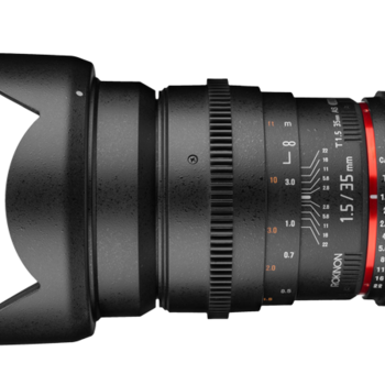 Rent Rokinon 35mm T1.5 Cine Lens - Sony A Mount