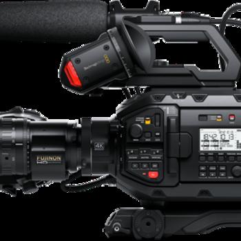 Rent Blackmagic URSA Broadcast Camera (Full Production Package)