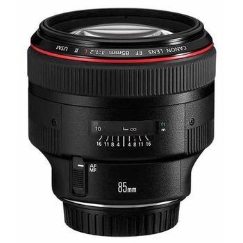 Rent Canon EF 85mm f/1.2L II USM