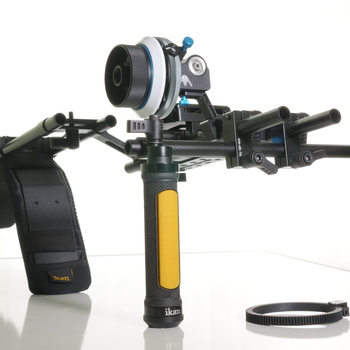 Rent ikan EV3 Flyweight Offset DSLR Shoulder Rig w/Axler Hammerhead Pro Follow Focus