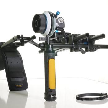 Rent ikan EV3 Flyweight Offset DSLR Shoulder Rig w/Axler Hammerhead Pro Follow Focus