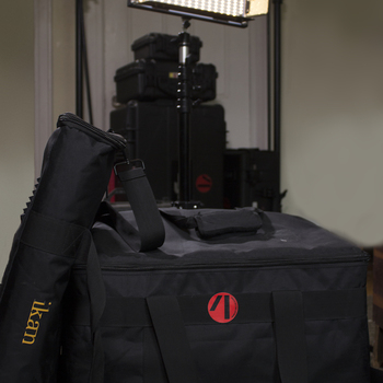 Rent Ikan IB-508 LED 3 Light Kit w/ 2 C-Stands and Shot Bags