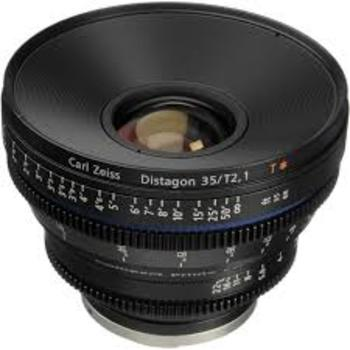 Rent Zeiss CP.2 Prime Lenses: 28mm + 35mm PL-Mounted