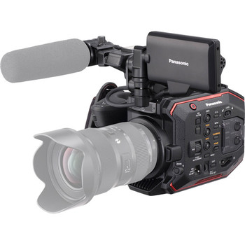 Rent Panasonic EVA1 w/ Zacuto VCT/Shoulder Mount, Zacuto Loupe, Custom handle