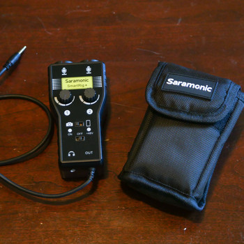 Rent Saramonic SmartRig+ Preamp and XLR adapter
