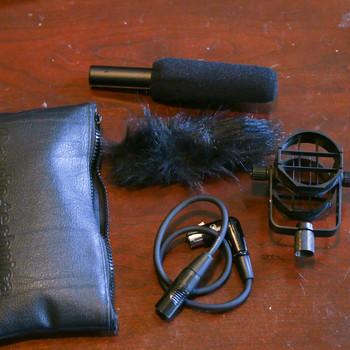 Rent AT875R Shotgun Mic w/ Accessories