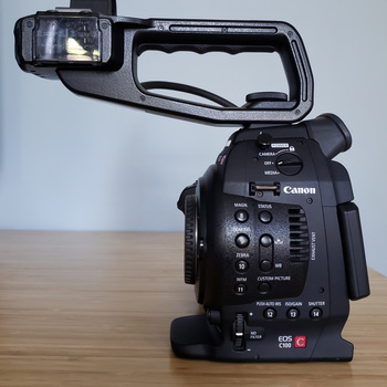 Rent Canon EOS C100 EF Camera Body