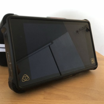 Rent Atomos 4k ninja inferno with 4 batteries, 480 GB SSD, A7s/Gh5 cables, and travelling case