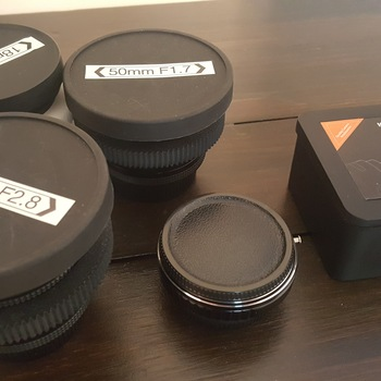 Rent Contax Zeiss lenses with Nikon F adapter
